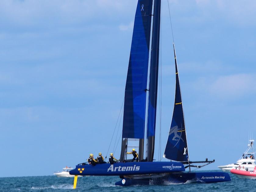 America's Cup World Series in Bermuda with Ulysse Nardin