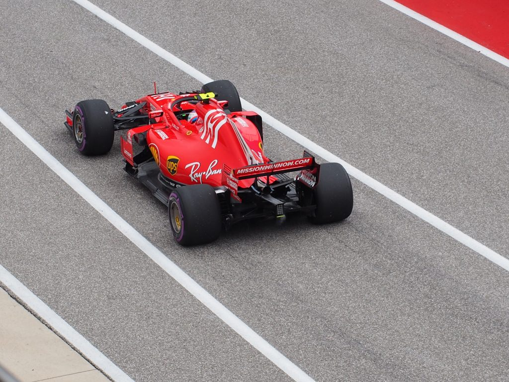 Formula 1 racing at COTA
