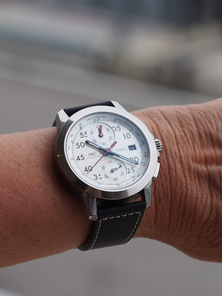 "IWC Ingenieur Chronograph Sport Edition ""50th Anniversary of Mercedes-AMG."""