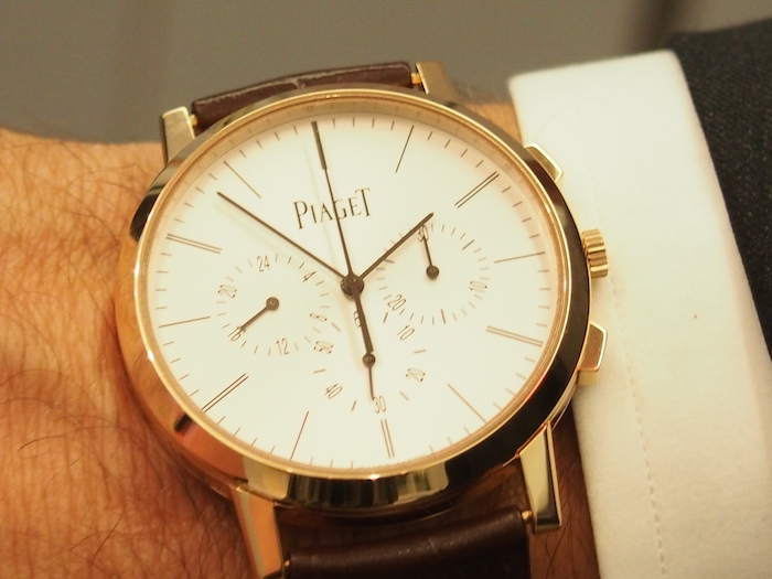 Piaget Altiplano Chronographsets two records for hand-wound ultra thin watches