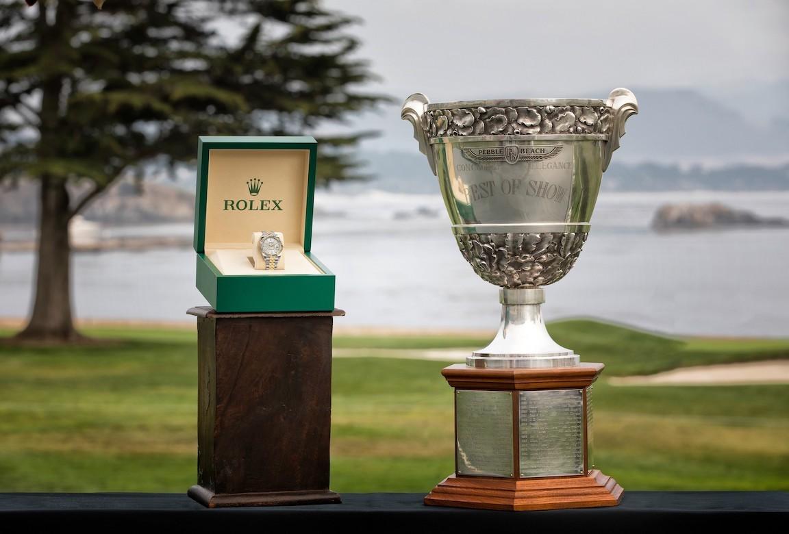 Rolex, Pebble Beach Concours d' Elegance 2019