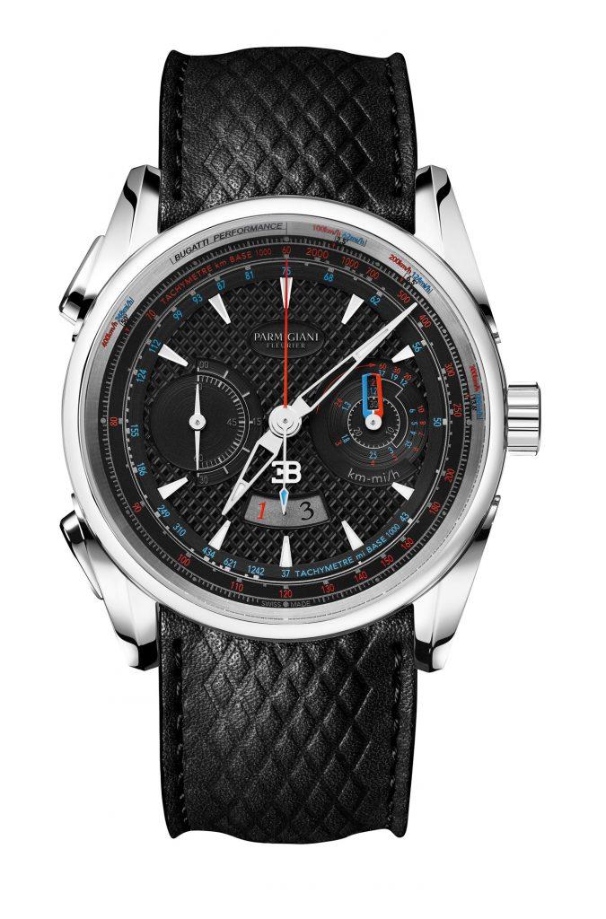 Parmigiani Fleurier Bugatti Aerolithe Performance watch, $22,900.