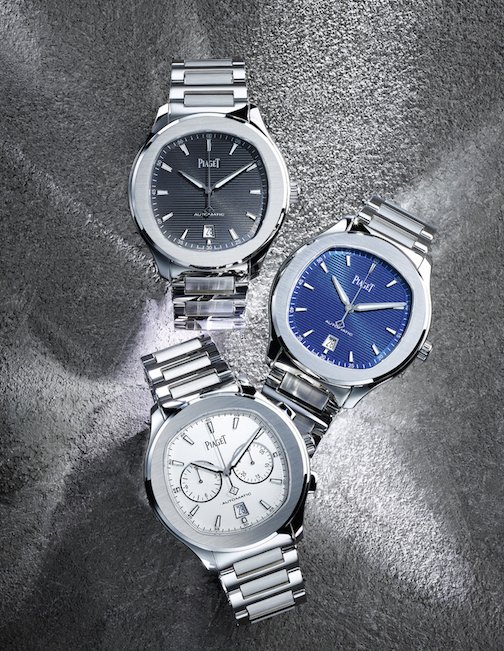 Piaget Polo S is created only in stainless steel