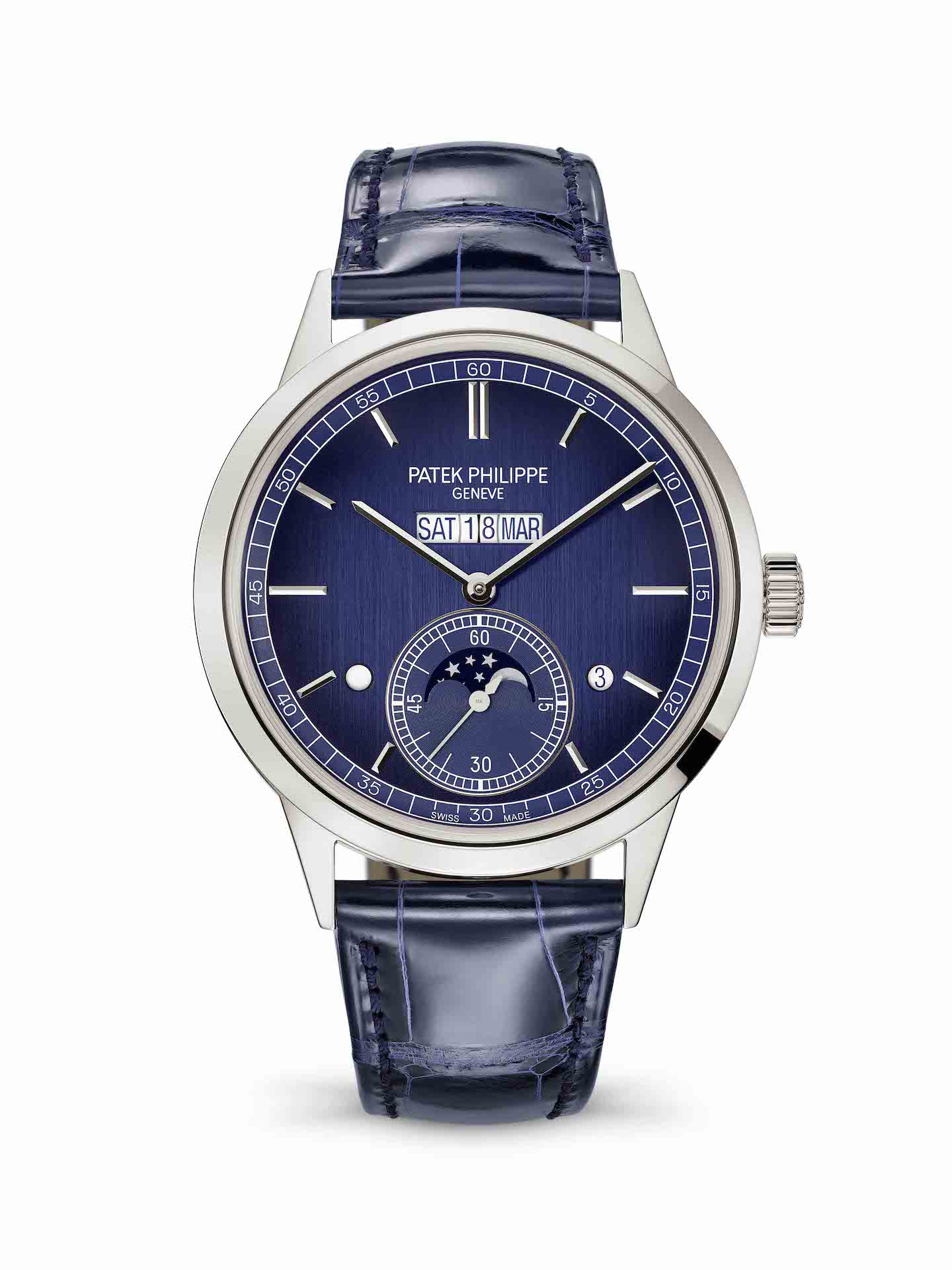 Patek Philippe Ref. 5236P in-line perpetual calendar watch