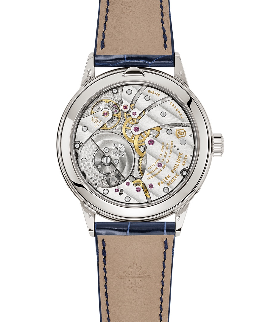 The Patek Philippe Ref. 5236P in-line perpetual calendar watch