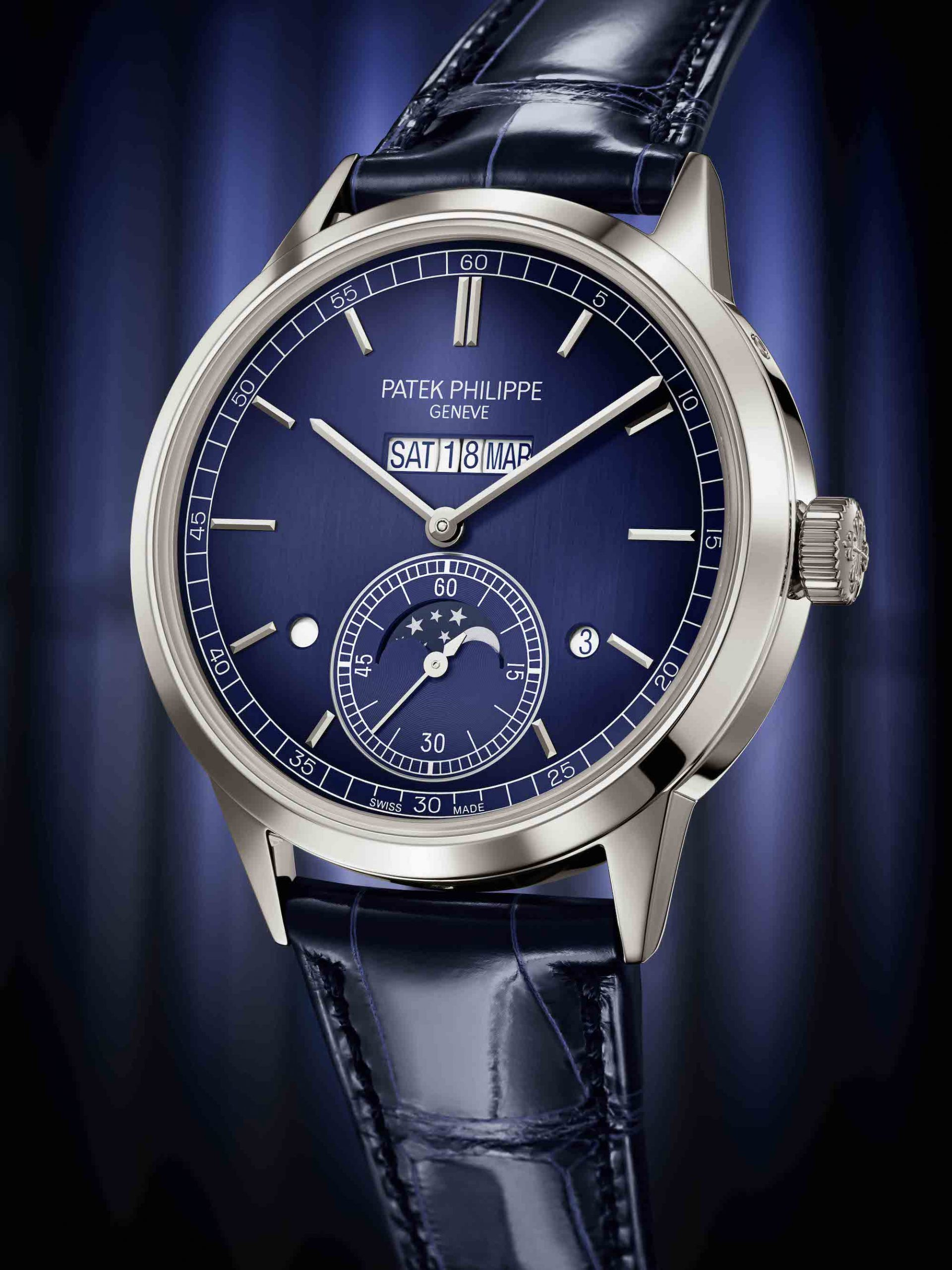 Patek Philippe Ref. 5236P in-line perpetual calendar watch, Watches & Wonders 2021