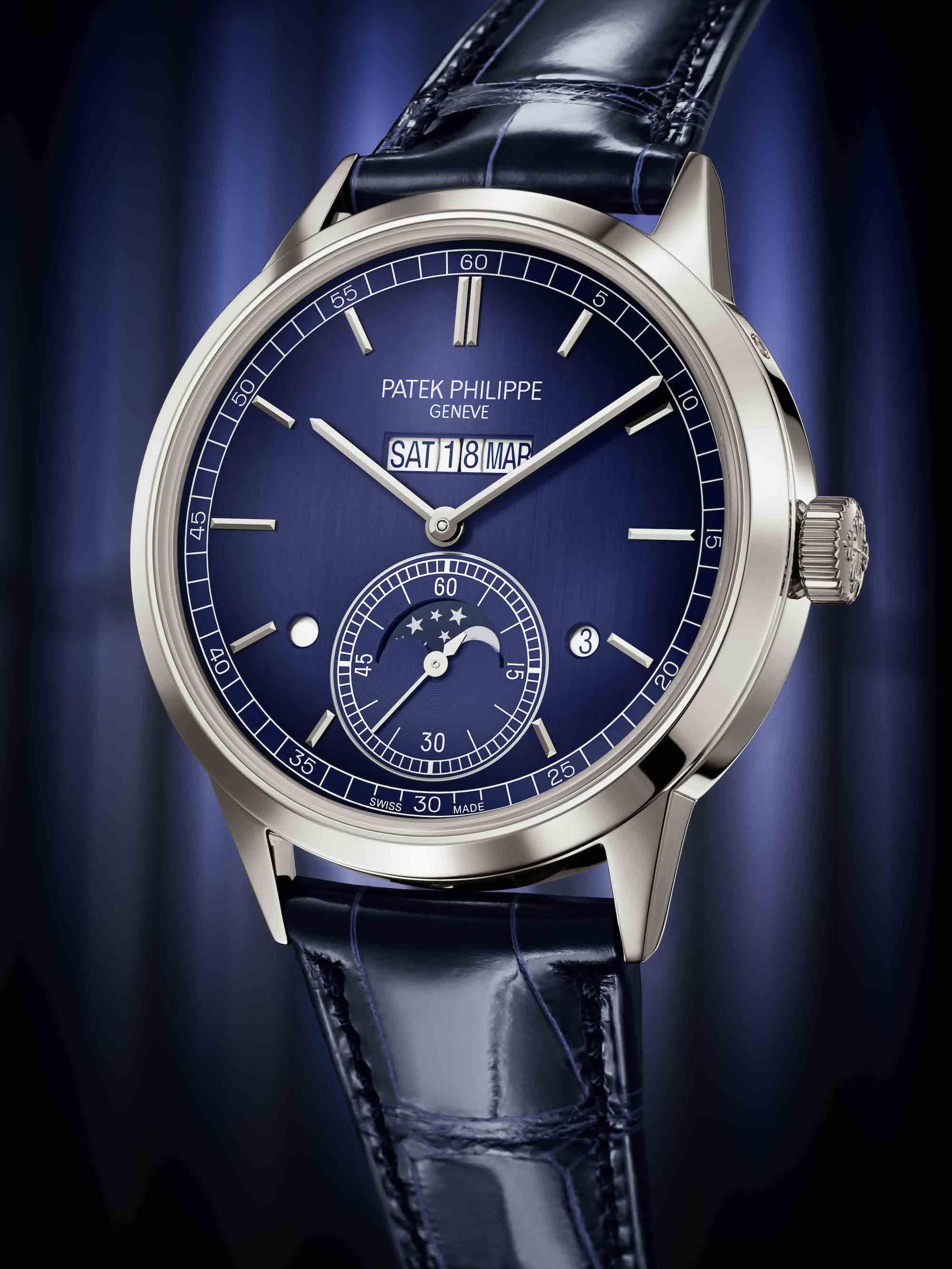 Patek Philippe Ref. 5236P in-line perpetual calendar watch, Watches & Wonders 2021