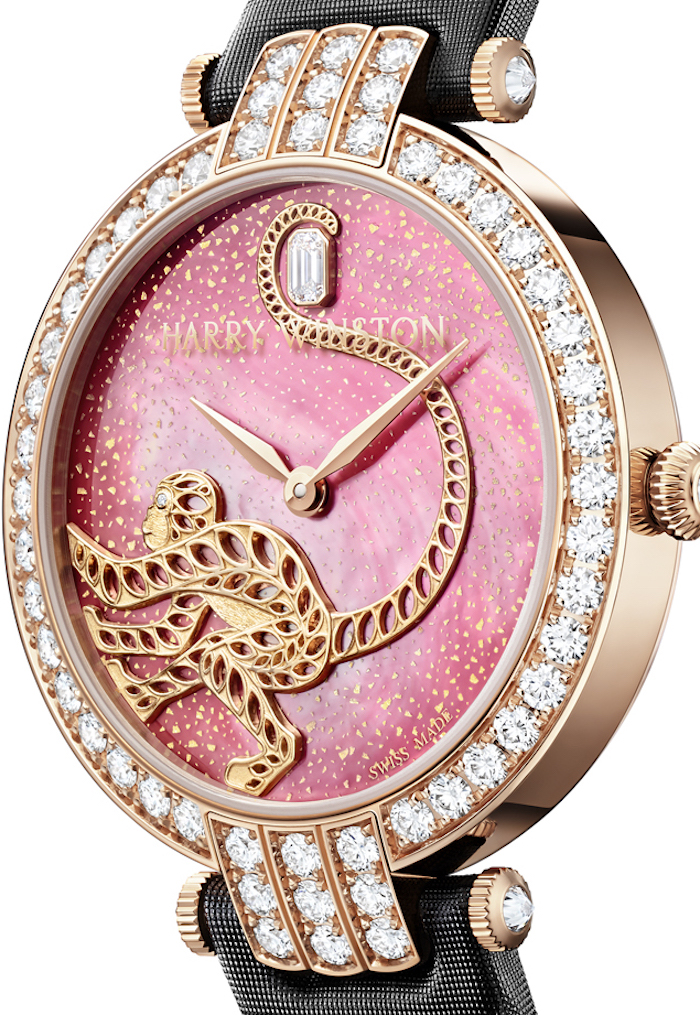 Harry Winston's Year of the Monkey Premier watch is being created in a limited edition of 8 pieces