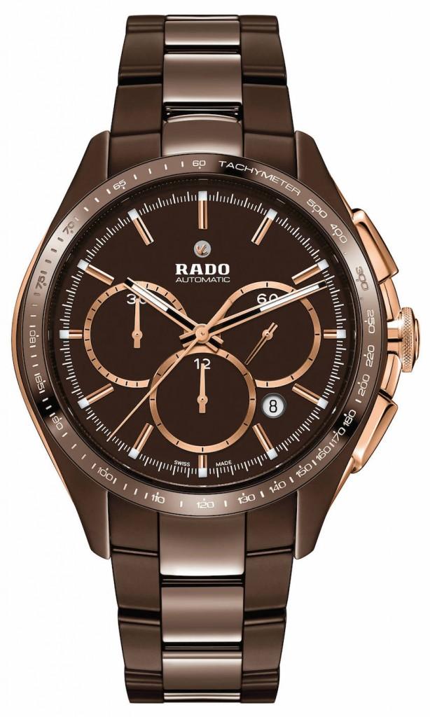 Rado HyperChrome Automatic Chronograph Tachymeter, chocolate