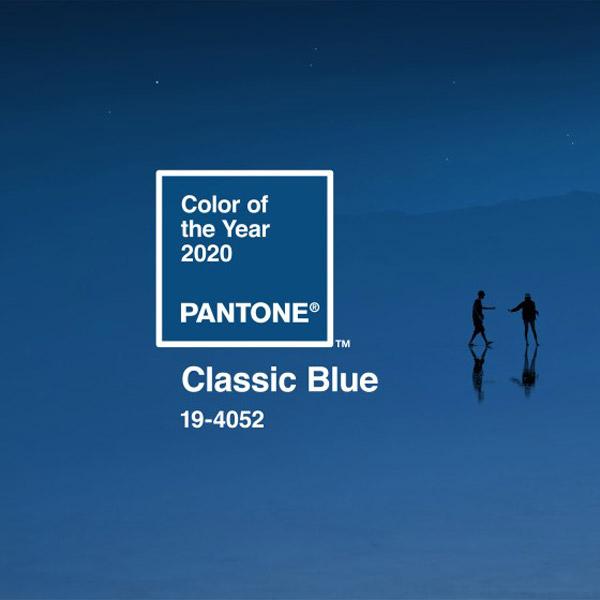 Pantone Classic Blue for 2020