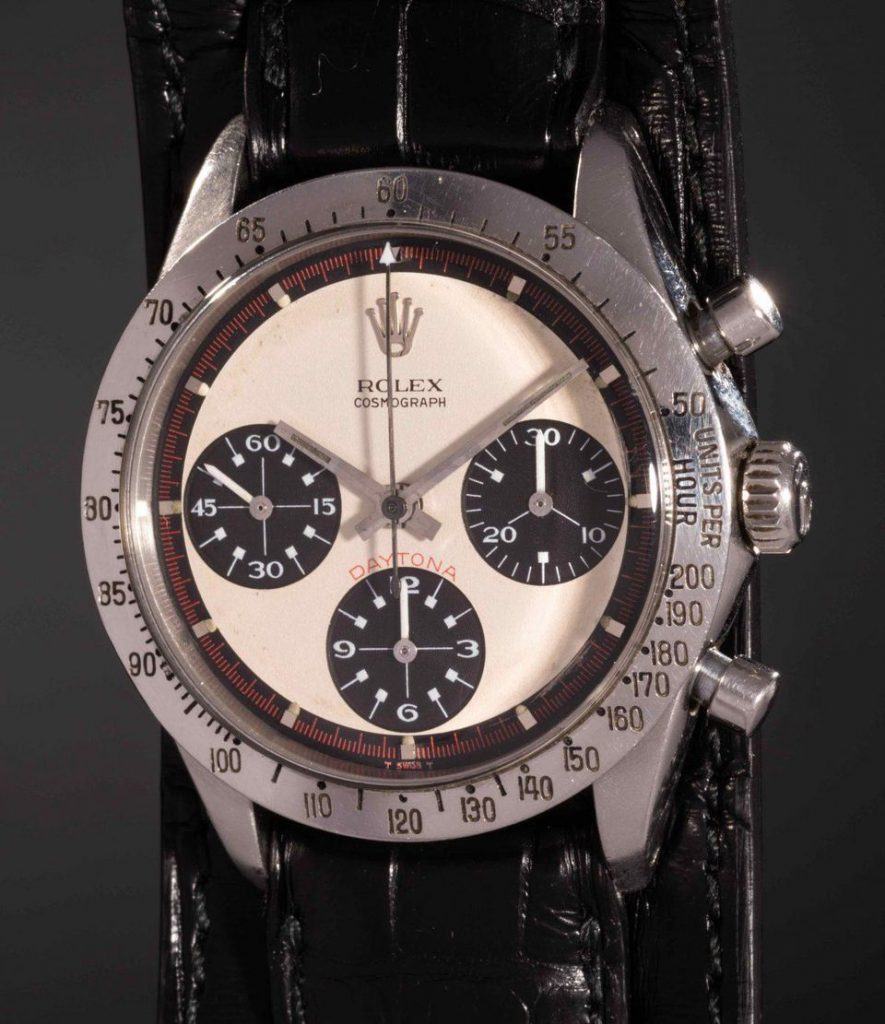 Paul Newman's Rolex Daytona sold at a PHillip's Auction for $17 million