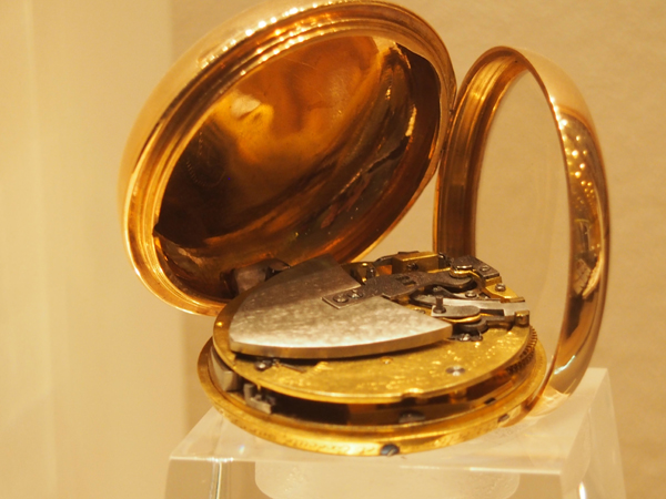 Perpetuelle self-winding watch. ca/ 1789, representing the earliest Perpetuelle by Breguet.