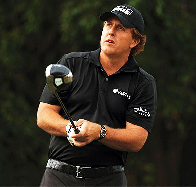 Phil Mickelson, PGA, Rolex
