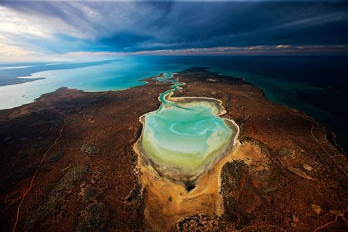 Shark Bay (Planet Ocean movie) (C) Yann Arthus-Bertrand