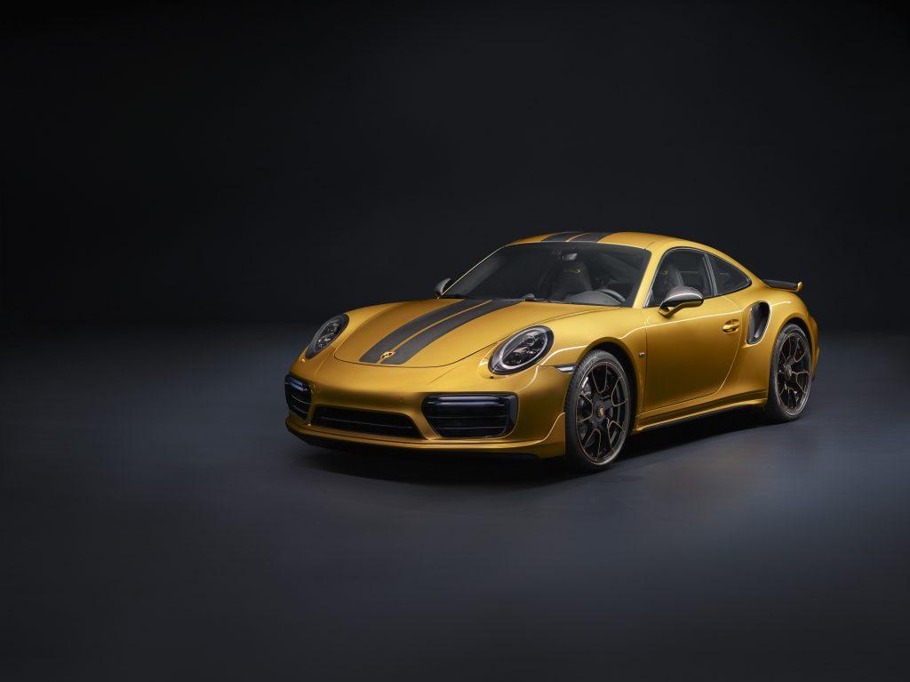 Porsche 911 Turbo S Exclusive Sieres car