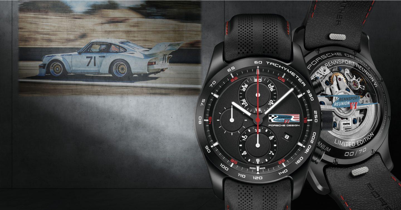 Porsche Design Chronotimer Rennsport Reunion VI Limited Edition watch.