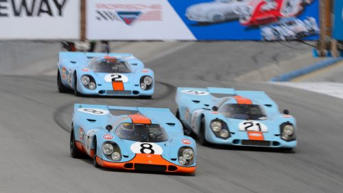 This year's Rennsport Reunion will take place in Laguna Seca in September.