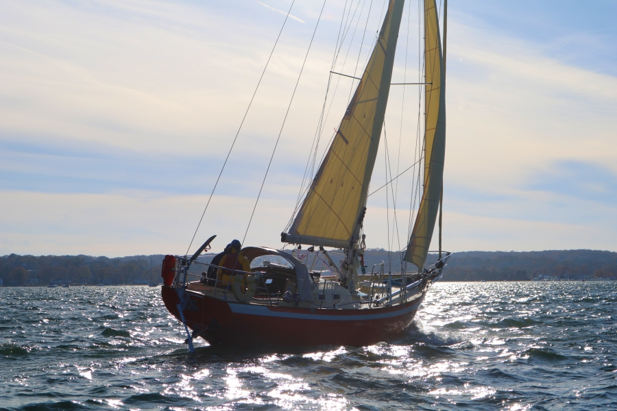 Istvan Kopar's boat, Puffin, will set sail July 1 as he participates in the solo circumnavigation of the globe with a Wempe chronometer and barometer.
