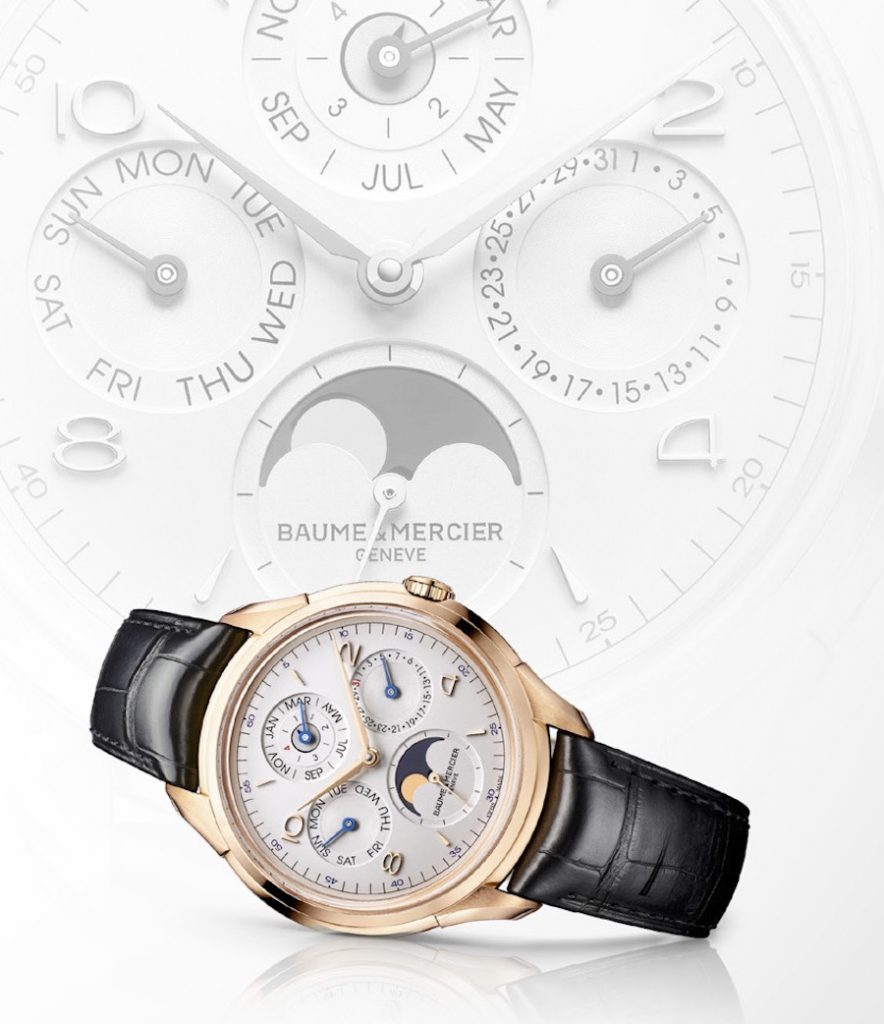 The Clifton Perpetual Calendar completes the brand's five special watchmaking complexities.