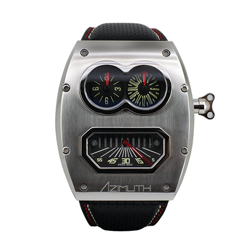 Azimuth Mr. Roboto R2 watch inspired by the concept of robots.