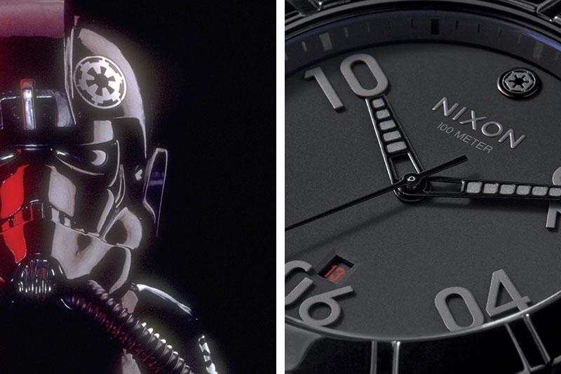 Star Wars/Nixon Collection Ranger Stormtrooper Imperial Pilot watch