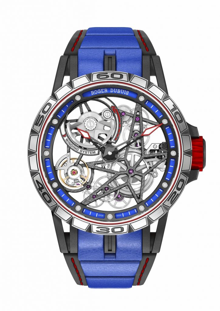 The Roger Dubuis Excalibur Spider Skeleton Automatic retails for about $67,000.