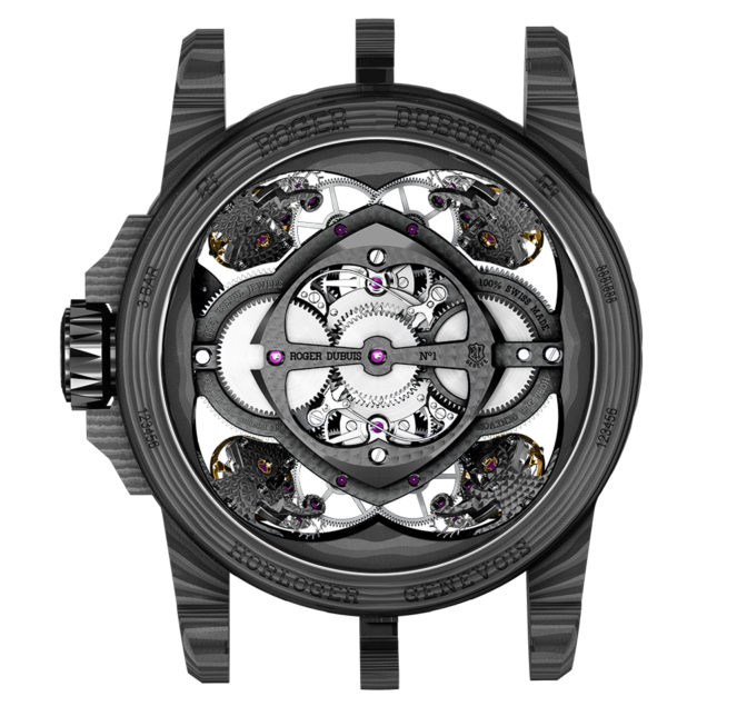 Roger Dubuis Quatuor Carbon With Four Sprung Balances