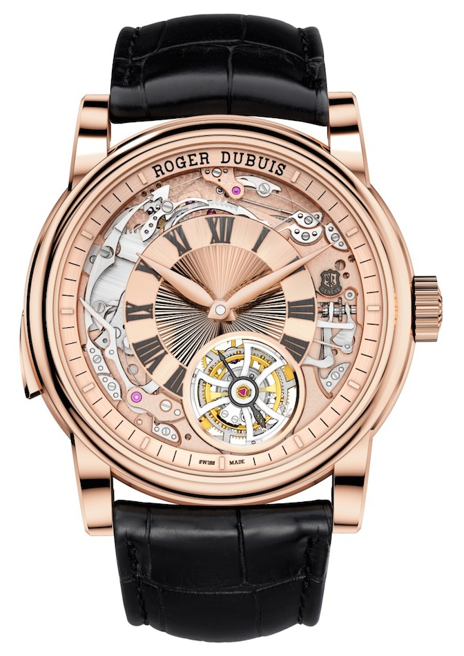 Roger Dubuis Hommage Minute Repeater Tourbillon