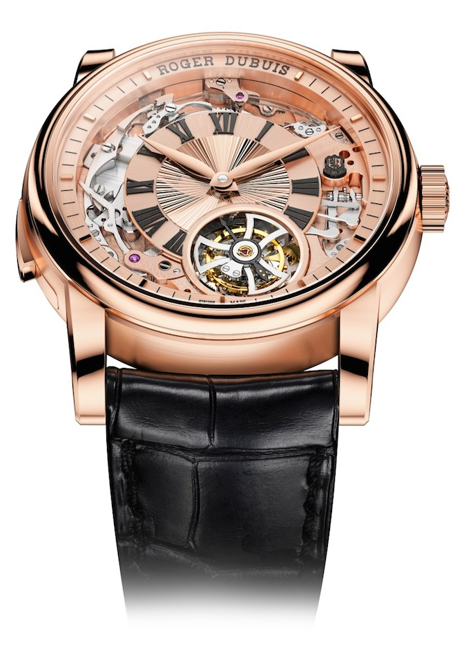 100 percent of the Roger Dubuis timepieces are Poincon de Geneve certified