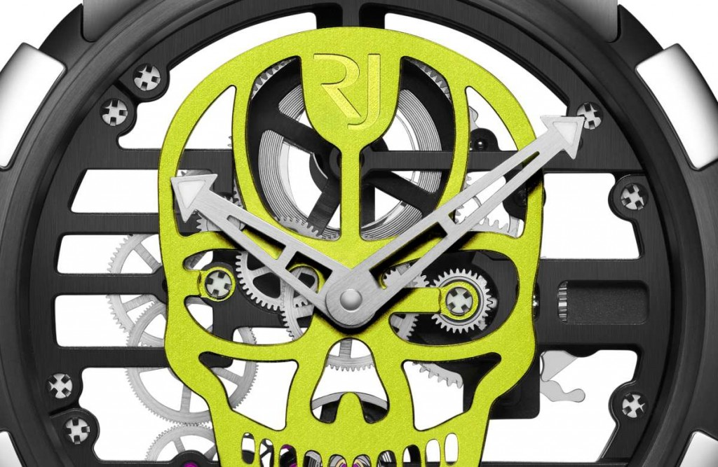 Dial of the new Romain Jerome Skull watch