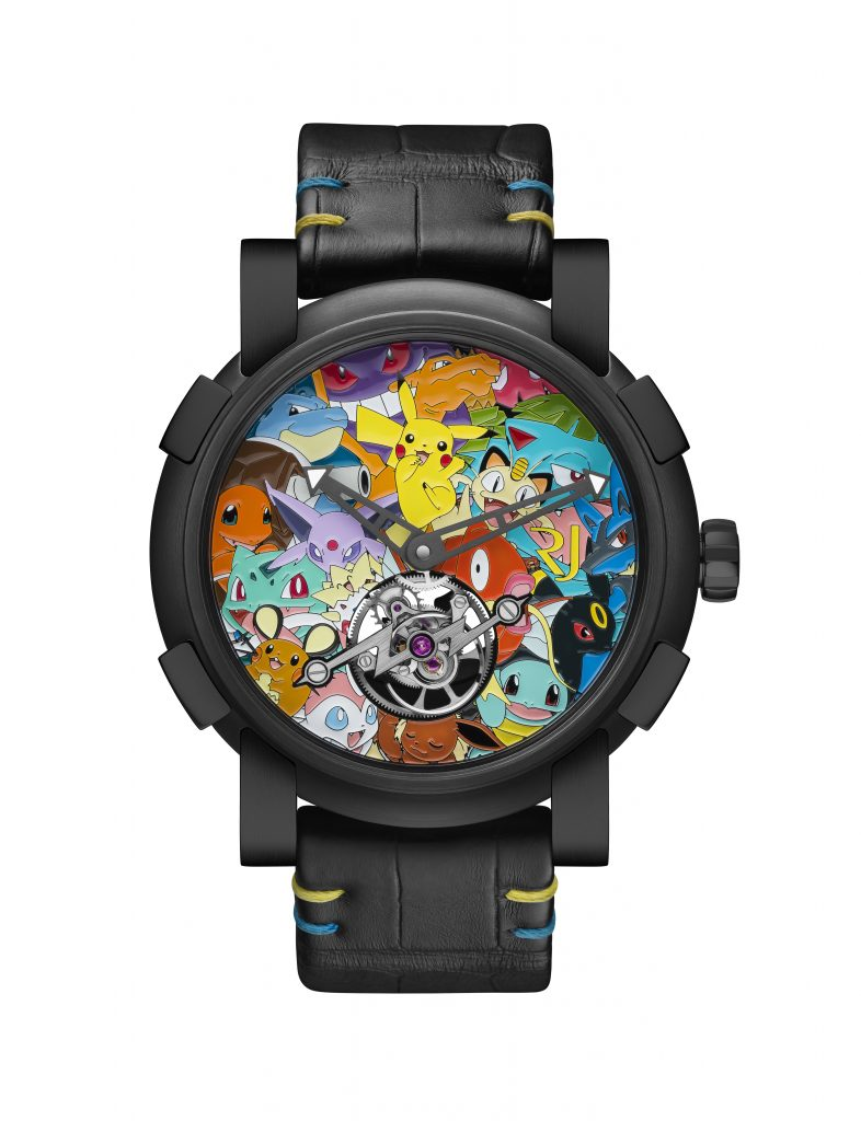 RJ-Romain Jerome teams with Pokemon Corporation International for the newest To PK Pikachu tourbillon watch.