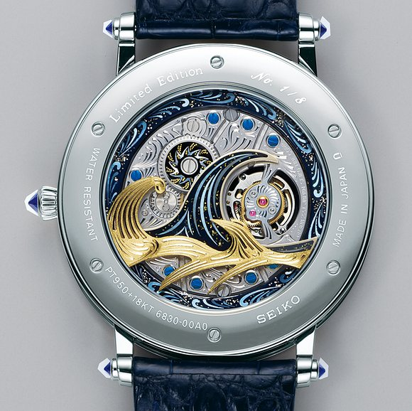 The Seiko Credor Fugaku Tourbillon Limited Edition houses the new caliber 6830