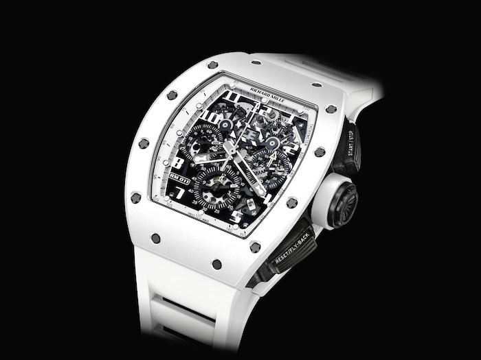 Richard Mille RM 011 White Ghost