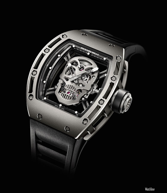 Richard Mille RM052 skull watch