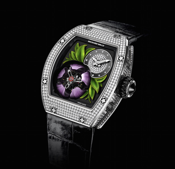 RM19-02 Tourbillon Fleur introduced by Richard Mille in 2015