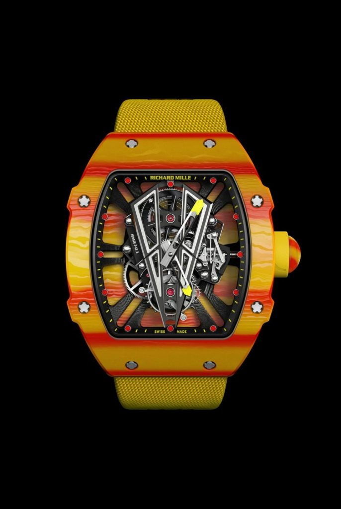 Richard Mille 27-03 Rafael Nadal watch. $750,000.