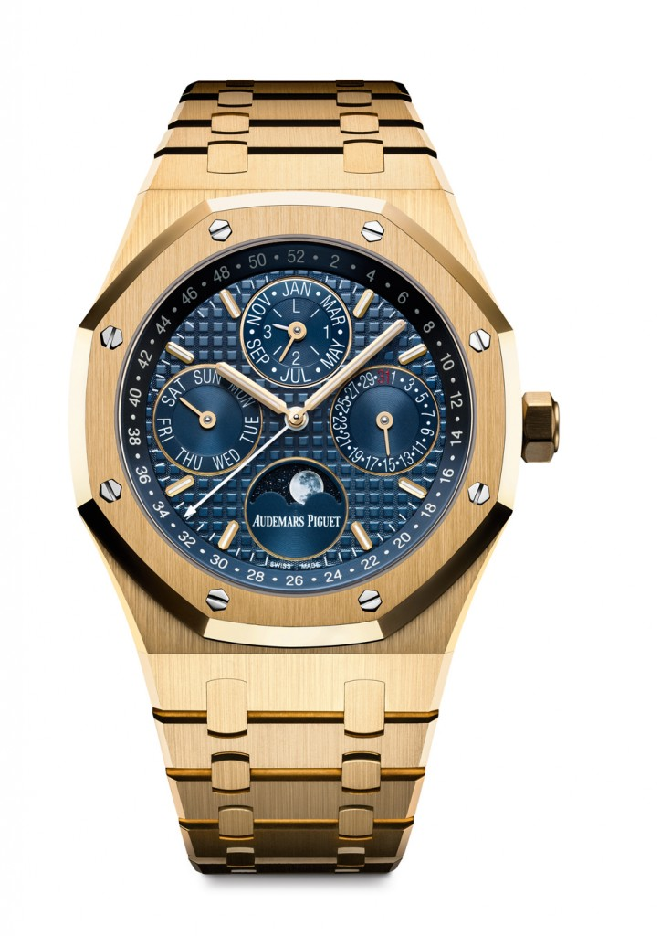 Audemars Piguet Royal Oak Perpetual Calendar in 18-karat yellow gold