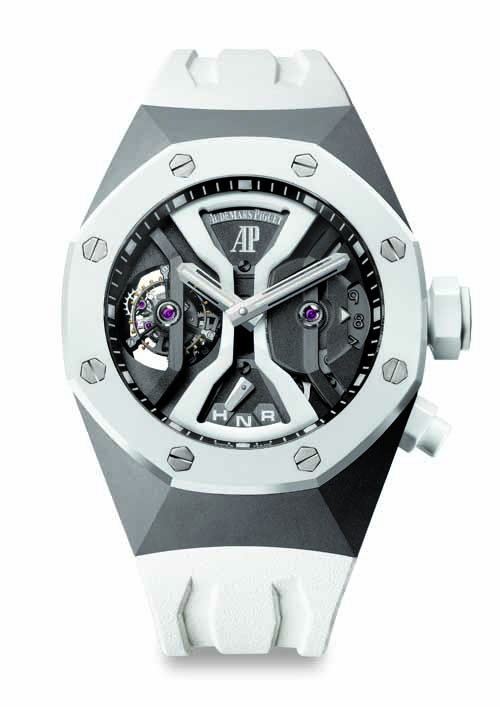 Audemars Piguet's new  Royal Oak Concept GMT Tourbillon.