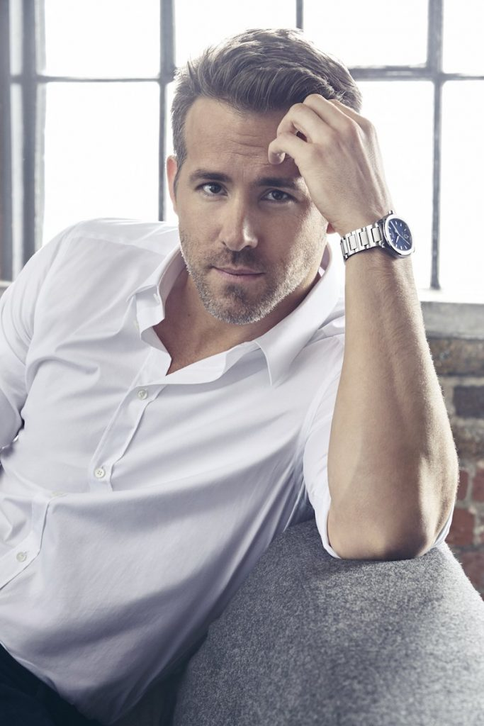 Ryan Reynolds, Piaget International brand ambassador