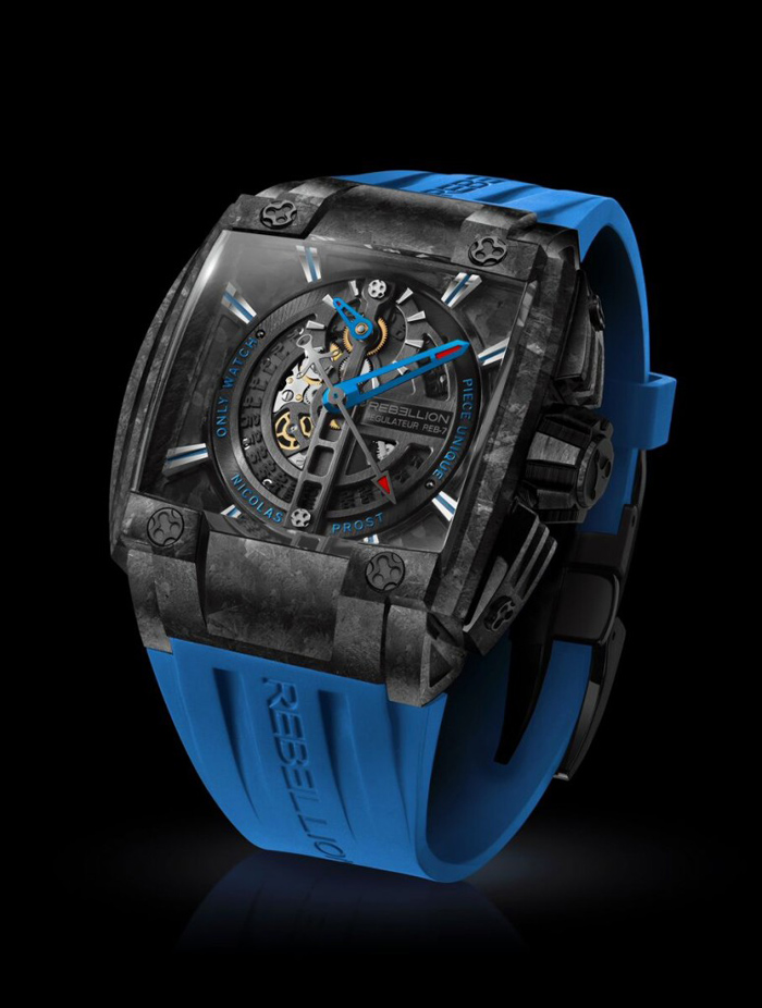 Rebellion 2015 ONLY WATCH REB-7 FORGED CARBON REGULATOR