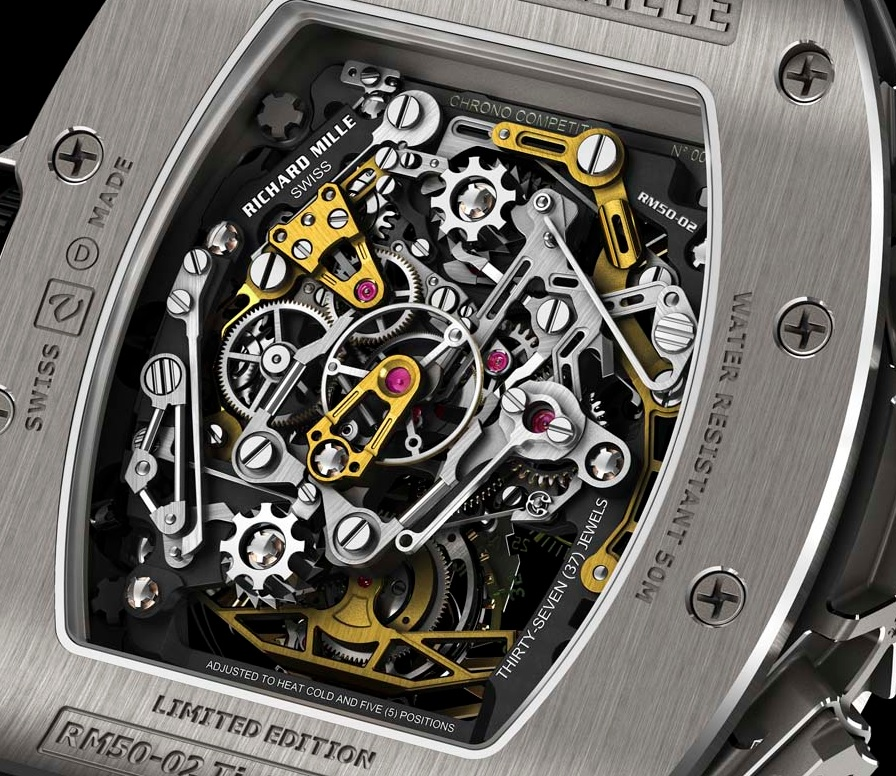 The movement is finely skeletonized and visible from and back