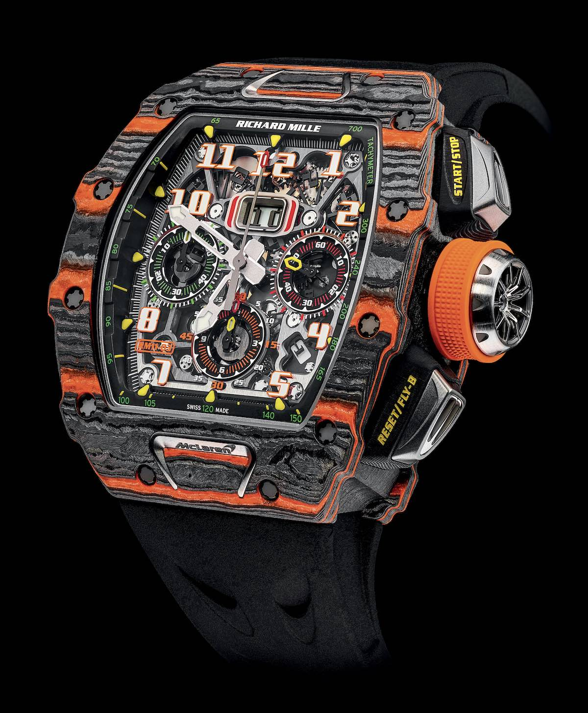 Richard Mille RM 11-03 Automatic Flyback Chronograph McLaren Only-Watch-2019