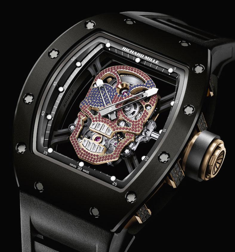 Richard Mille RM53 Skull watch