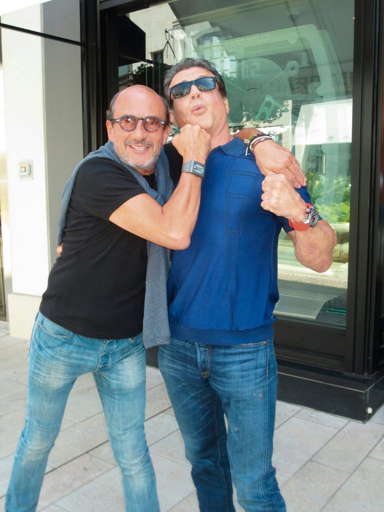 Richard Mille & Sylvester Stallone