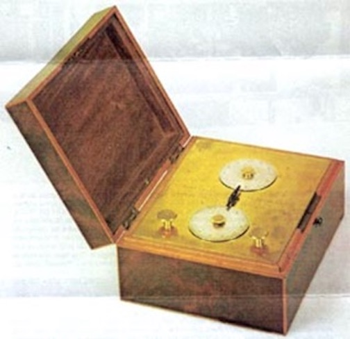 Nicolas Rieussec inking chronograph