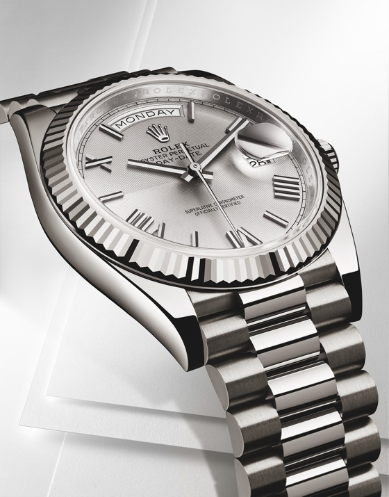 Rolex Day Date 40mm white gold