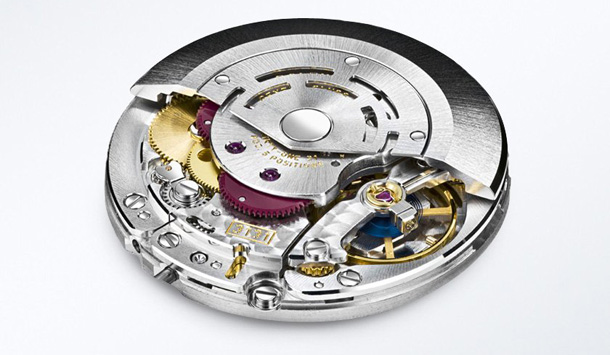 The movement consists of multiple proprietary materials that make it antimagnetic.