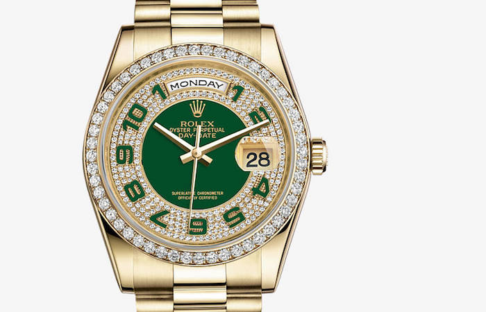 Rolex Oyster Perpetual Day Date diamond
