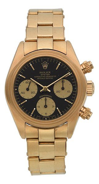 Rolex Ref. 6263 Gold Oyster Superlative Chronometer, 1980.