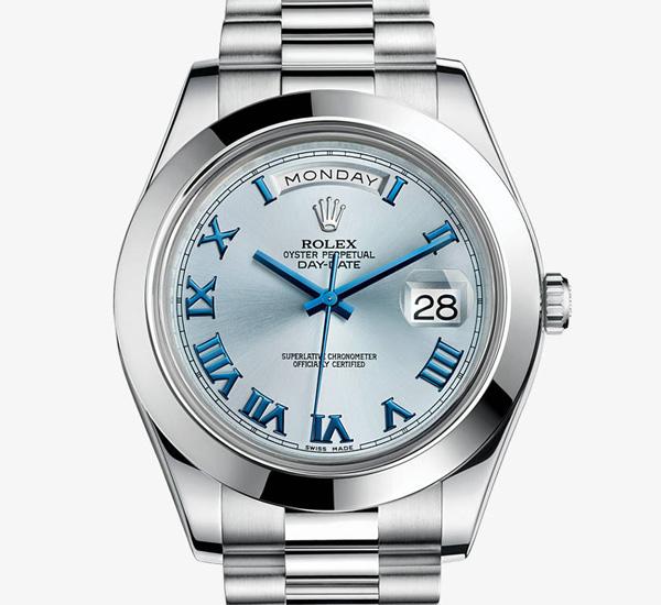 Rolex platinum Day-Date II